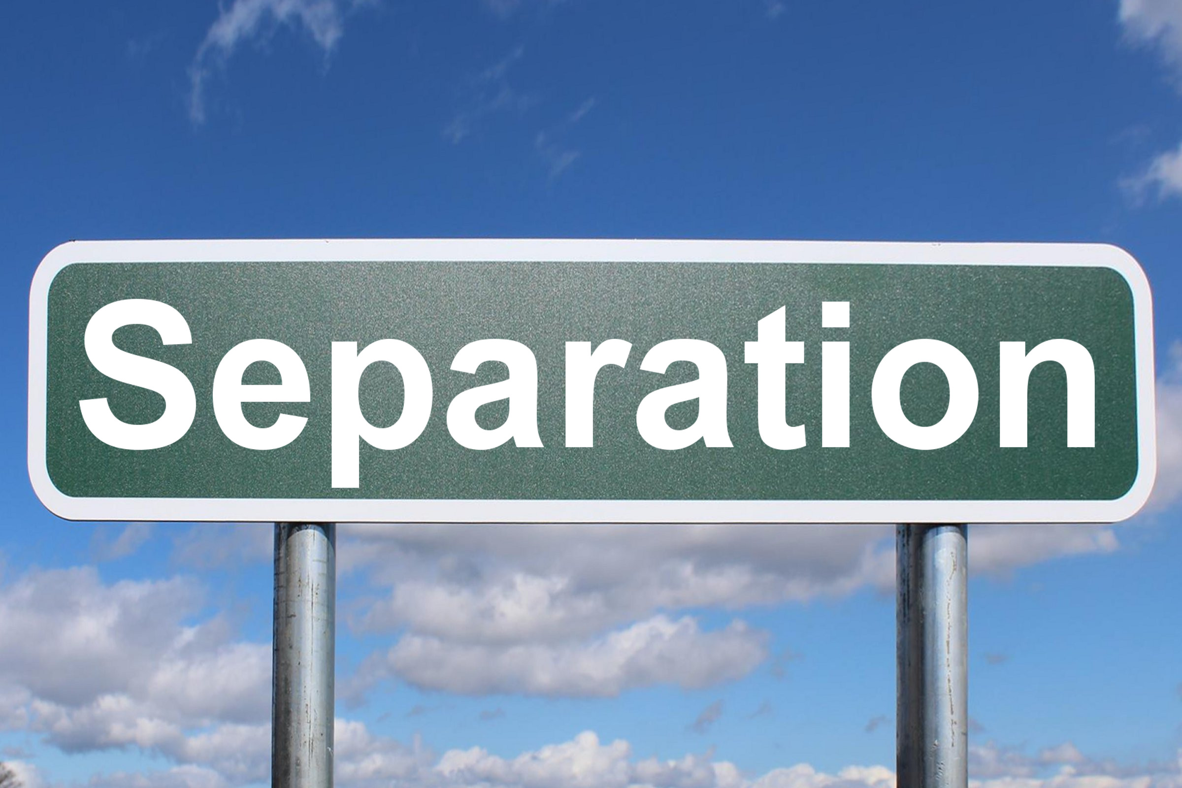 Why a Separation Agreement is Important